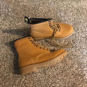 Shoes - Mustard Yellow Boots